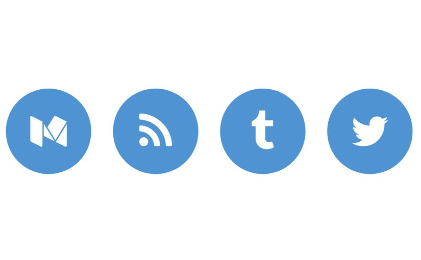 Simple Social Iconsを設定