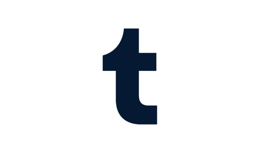 Tumblr icon blue